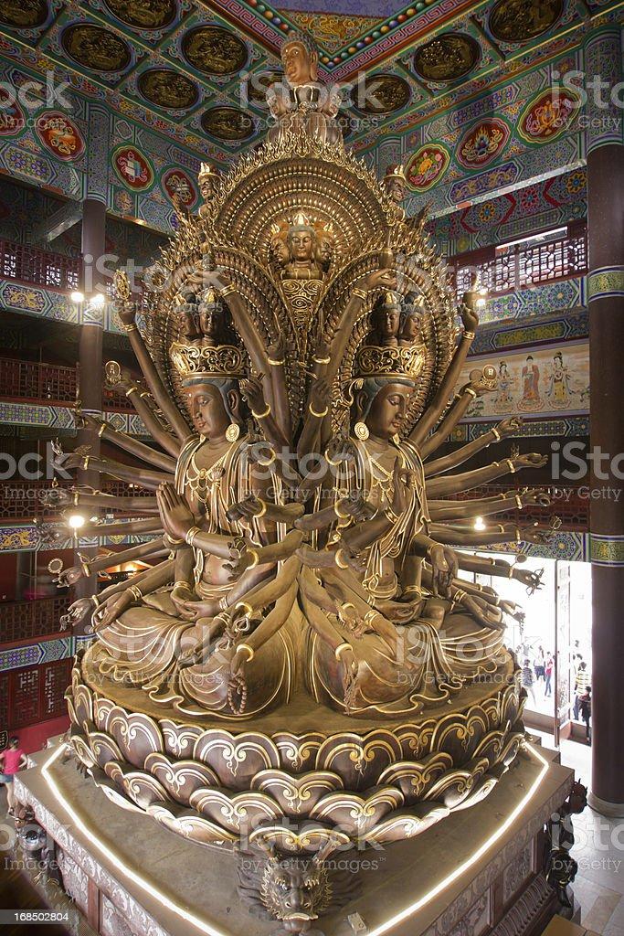 Avalokitesvara guanyin stock photo