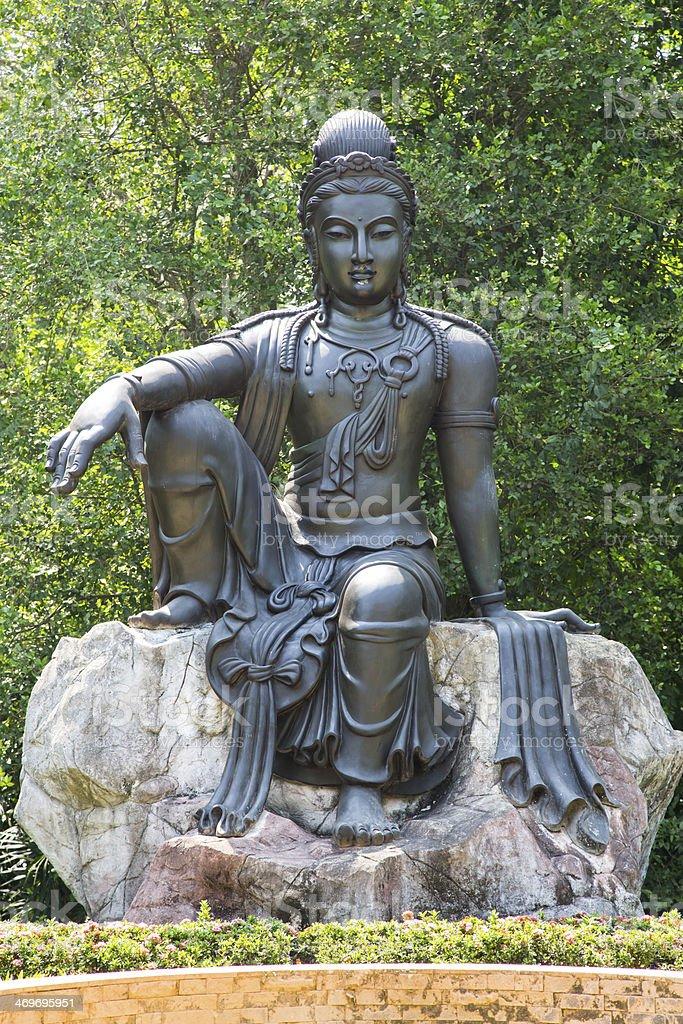 Avalokitesvara stock photo