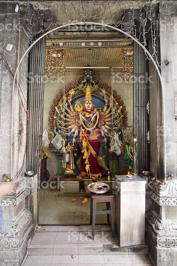 Avalokiteśvara Thousand Arms Hindu Goddess stock photo