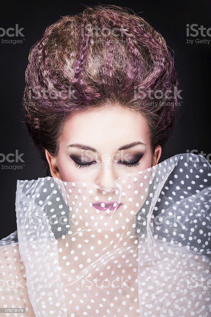 Avant garde beauty royalty-free stock photo