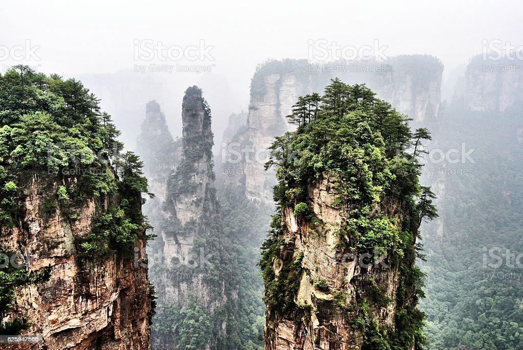 Avatar Mountains stock photo