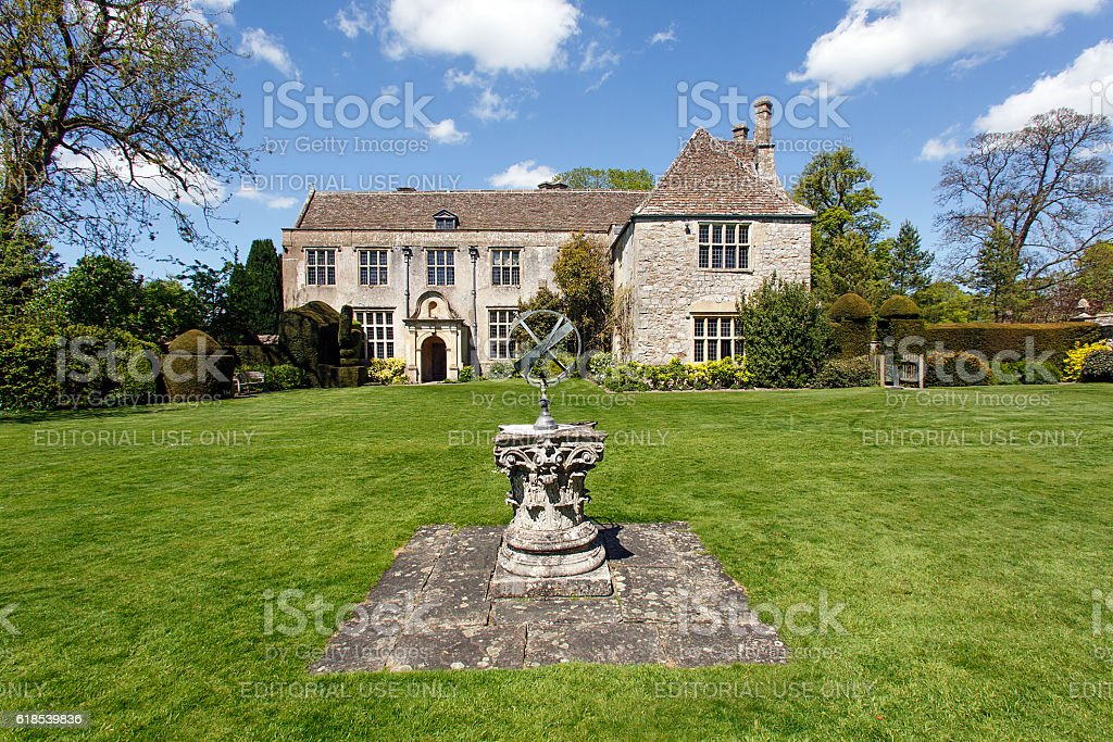 Avebury Manor stock photo
