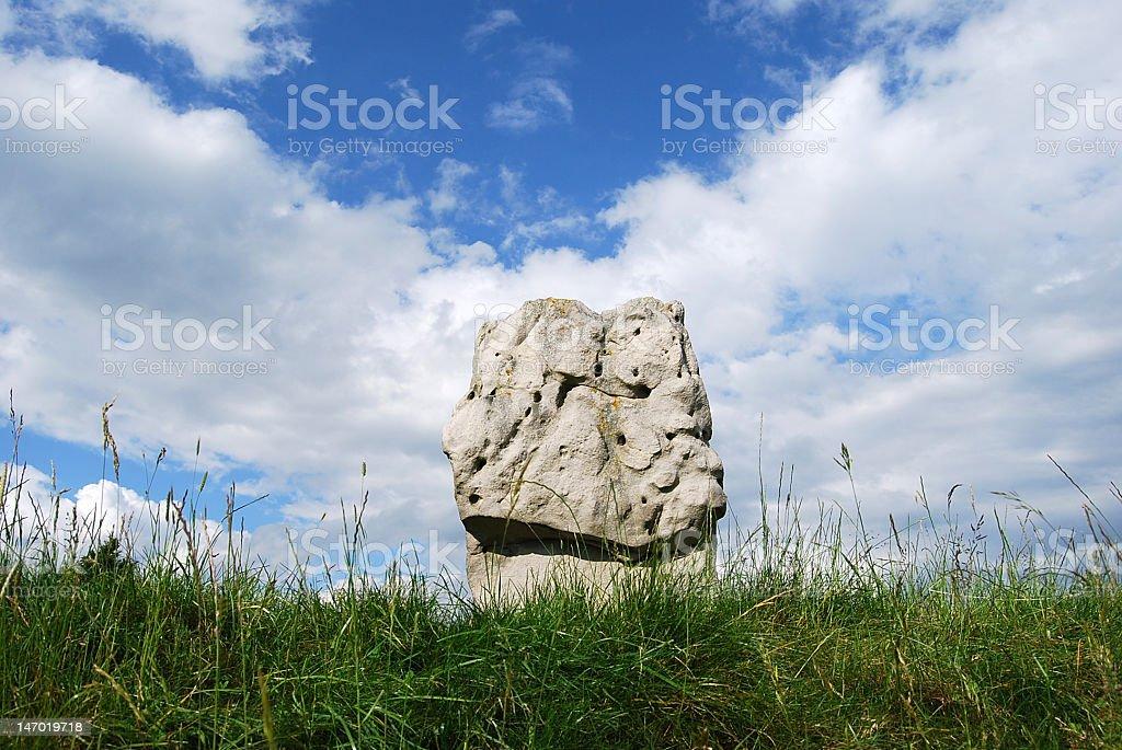 Avebury Stone Circle and Henge, Wiltshire UK stock photo