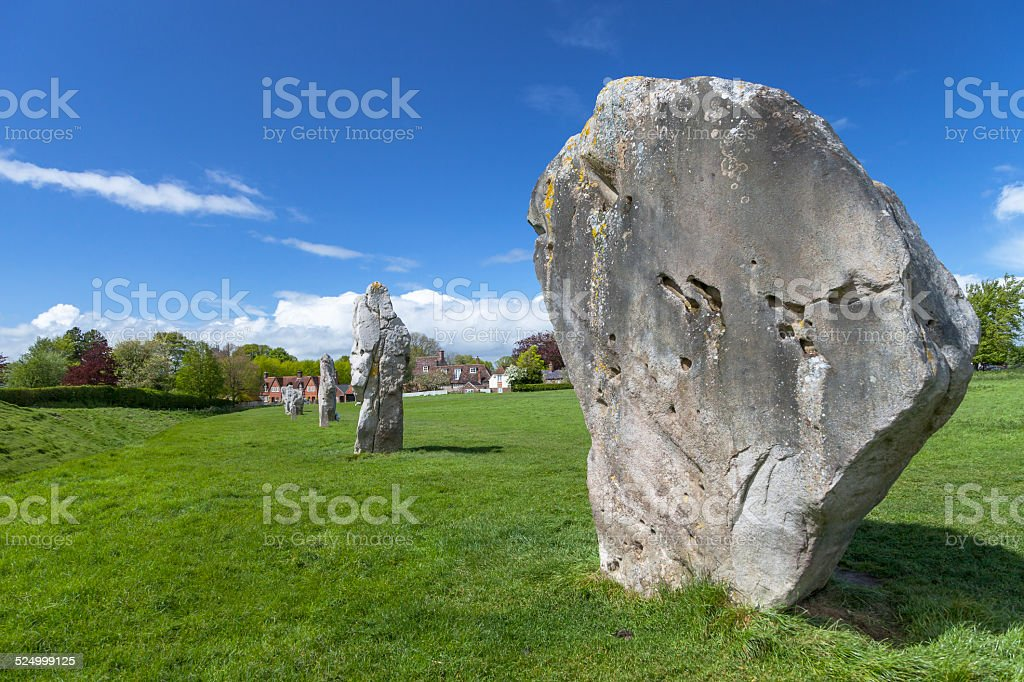 Avebury Stone Circle stock photo