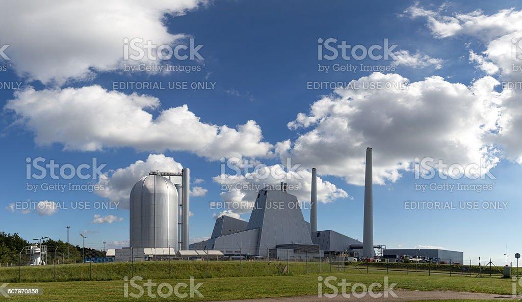 Avedoere Power Plant South of Copenhagen, Denmark stock photo