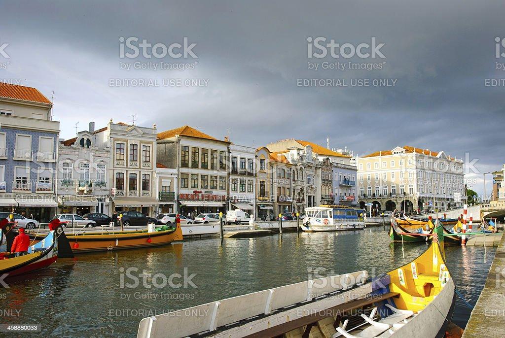 Aveiro, Portugal royalty-free stock photo
