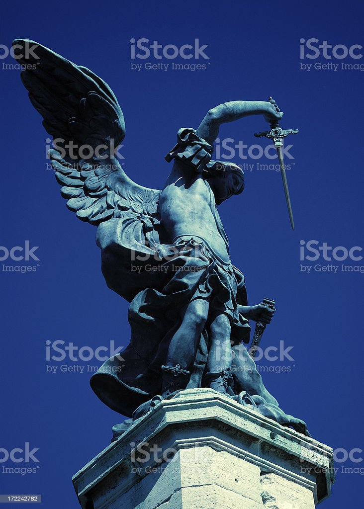 avenger angel stock photo