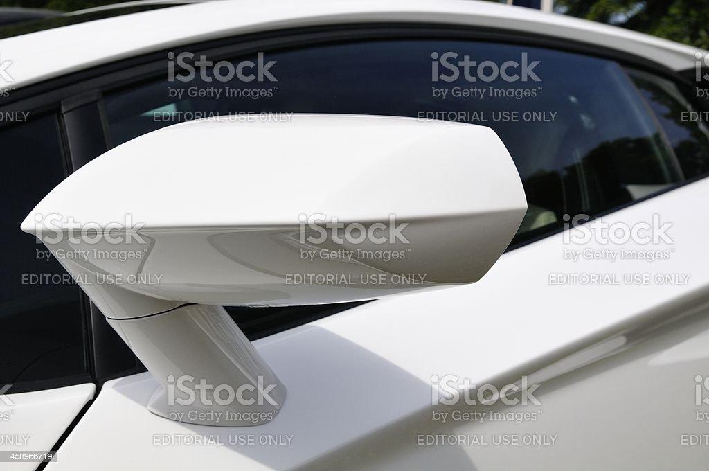Aventador mirror royalty-free stock photo