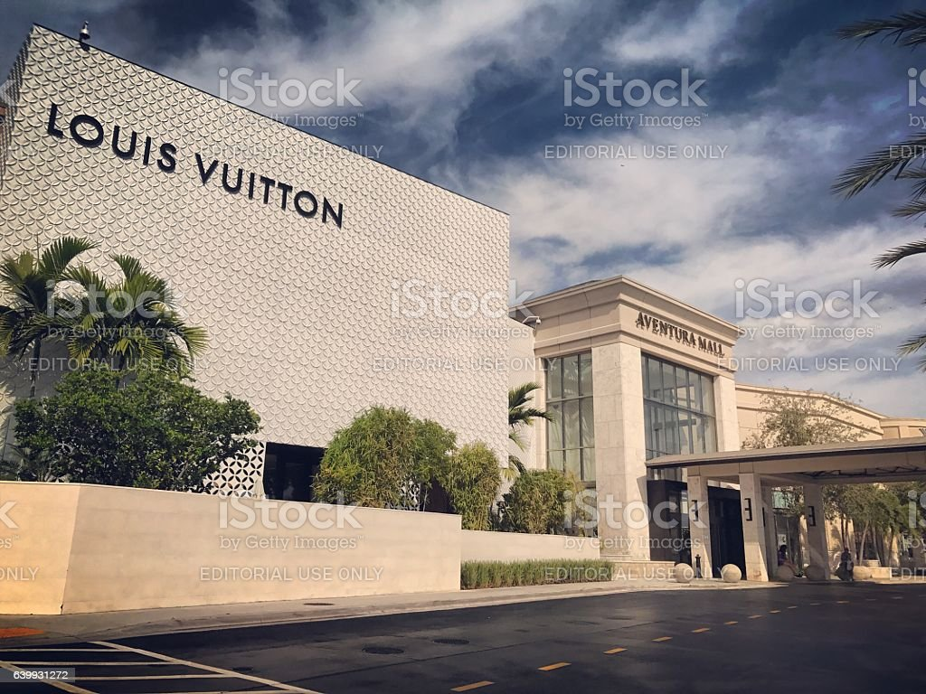 Aventura shopping mall, Florida, USA stock photo