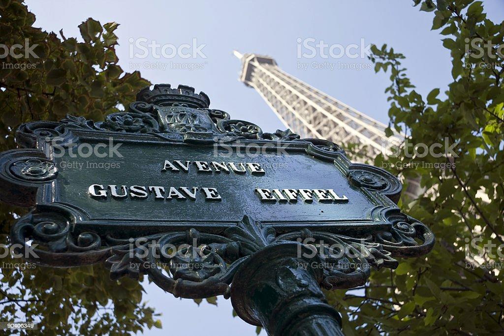 Avenue Gustave Eiffel Стоковые фото Стоковая фотография