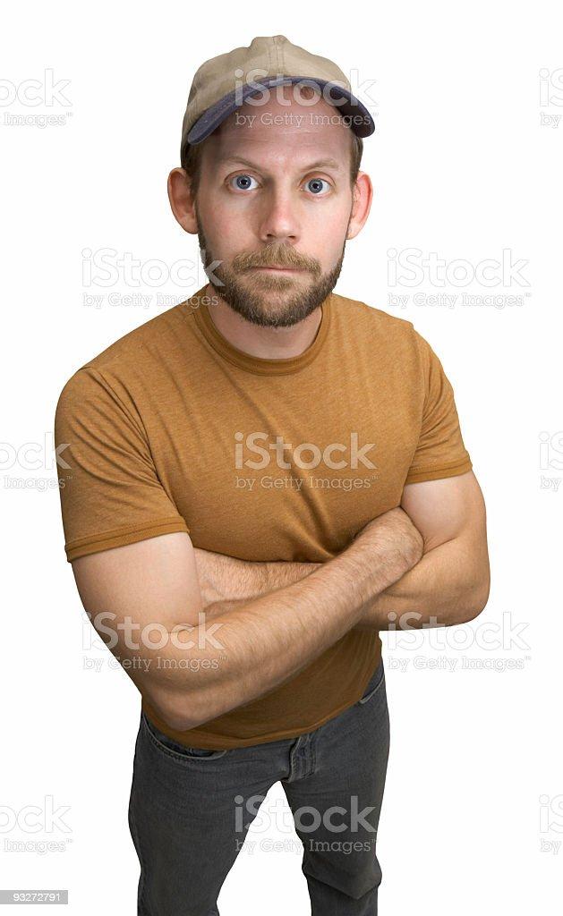 Average Guy royalty-free stock photo