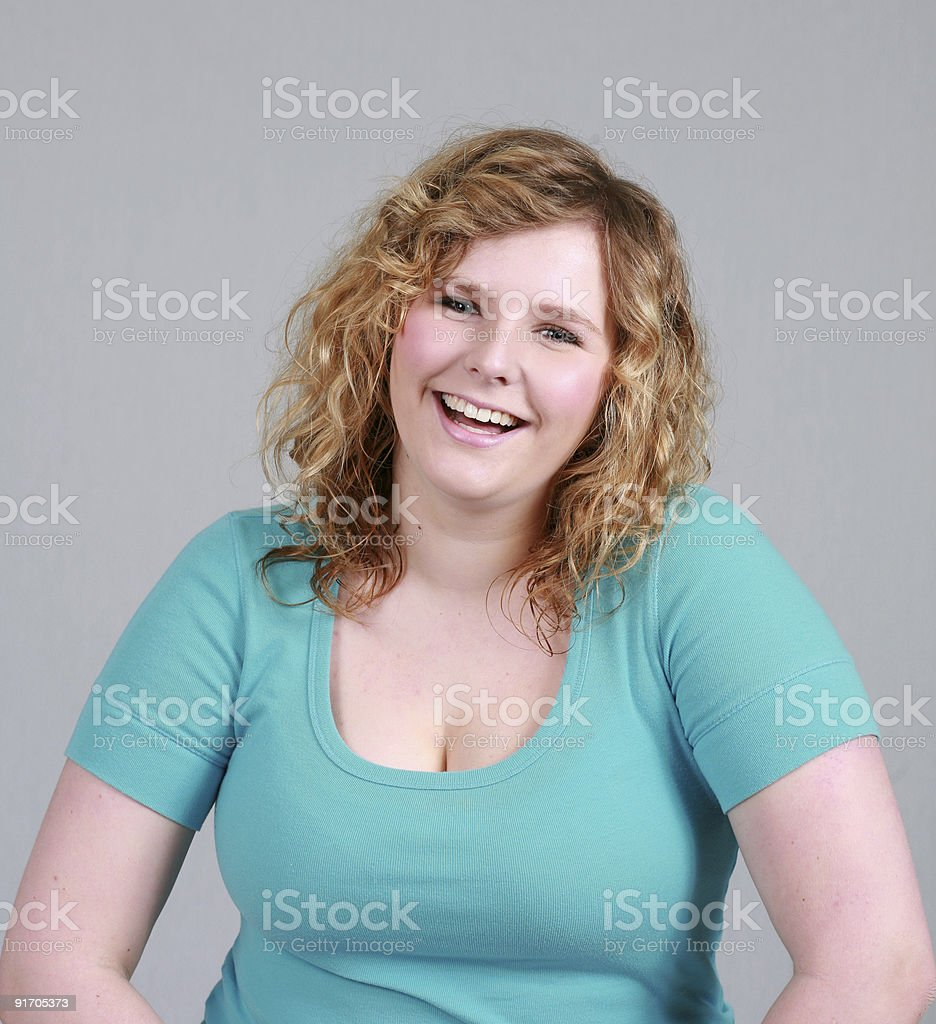 Average Laugh royalty-free stock photo