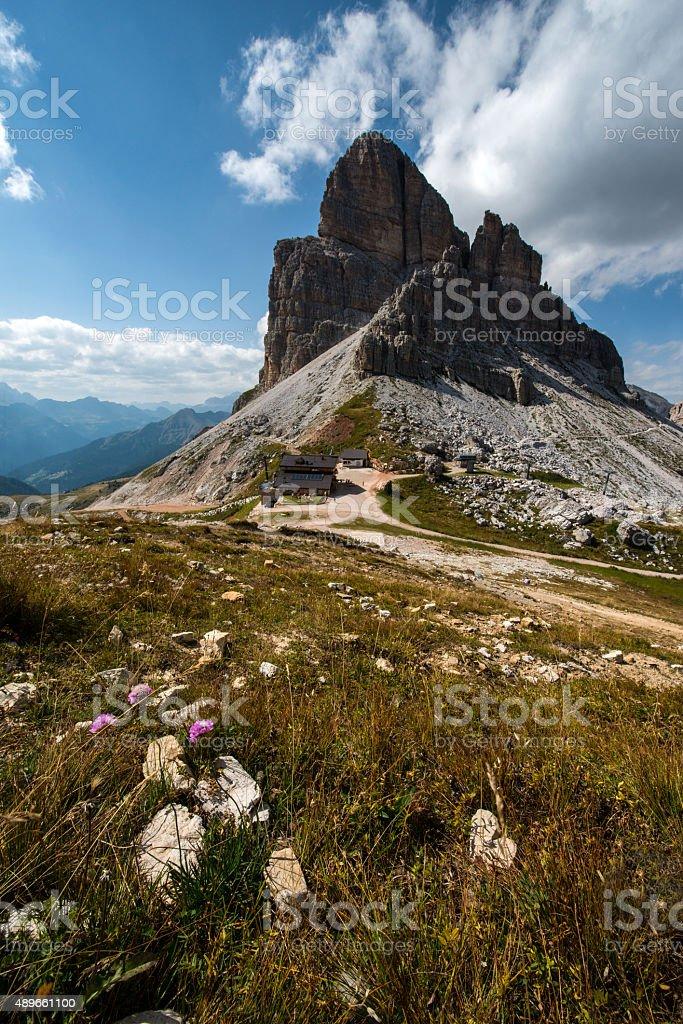 Averau Mountain, Dolomites stock photo