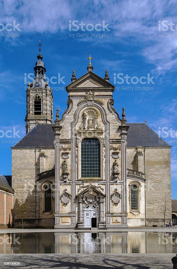 Averbode Abbey, Belgium stock photo