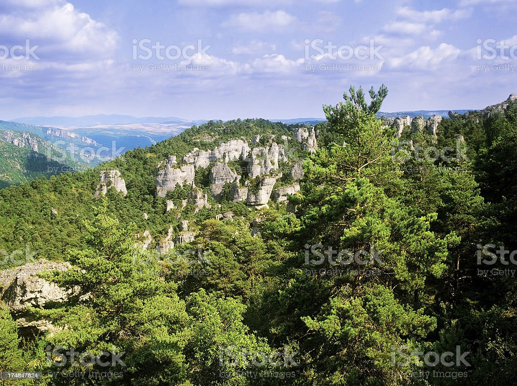 aveyron royalty-free stock photo