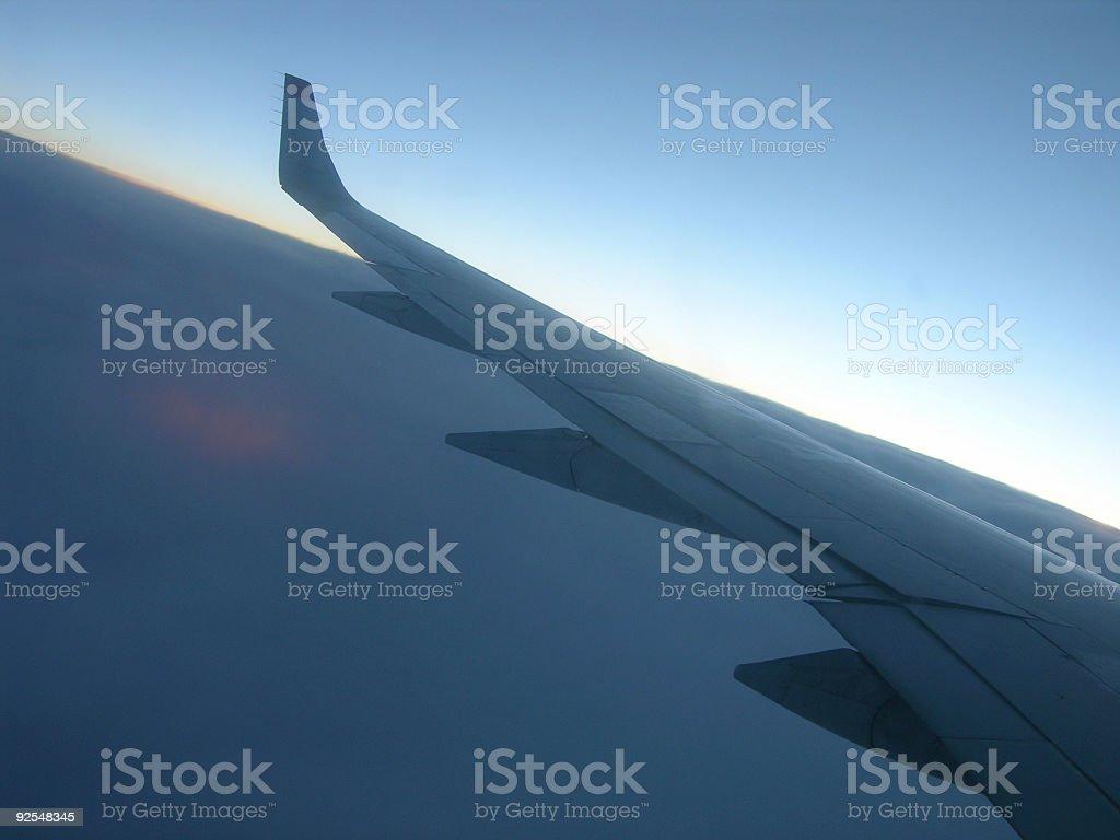 Aviate royalty-free stock photo