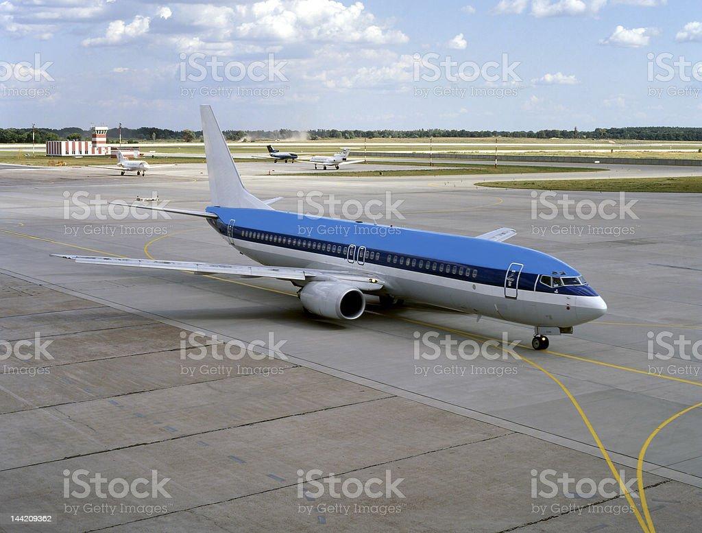 Aviation, civil, military royalty-free stock photo