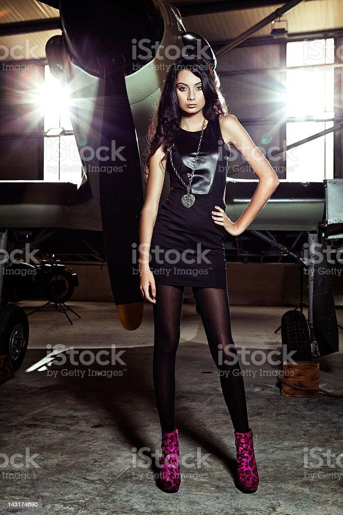 Aviation Fashion royalty-free stock photo