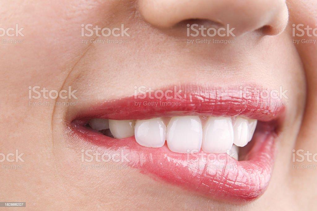 avid lips royalty-free stock photo
