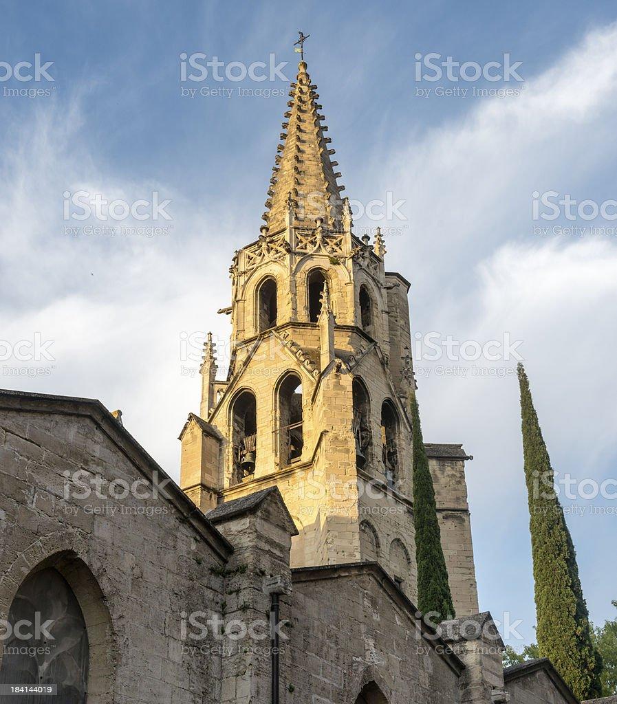 Avignon, belfry royalty-free stock photo