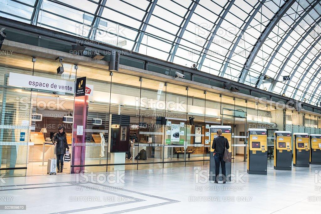 Avignon TGV Station, France stock photo
