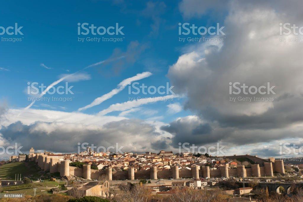 Avila, wall. Spain - foto de stock