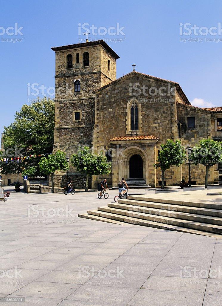 Aviles, Spain royalty-free stock photo