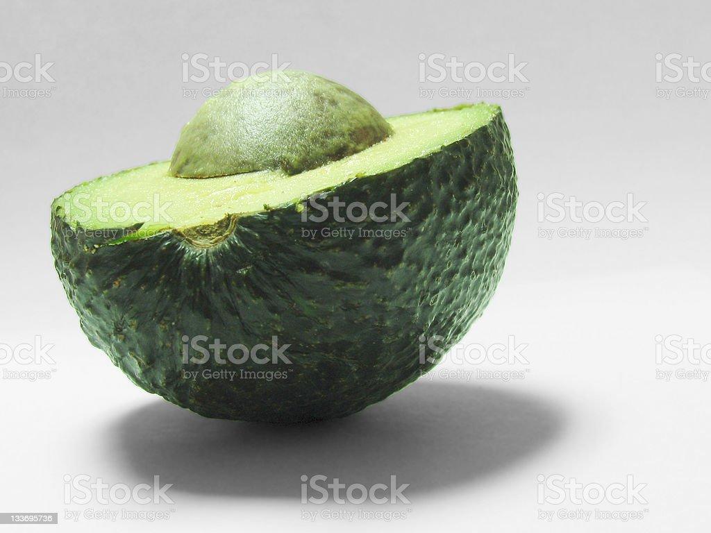 Avocado Half royalty-free stock photo