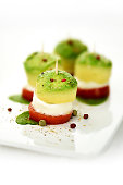 Avocado Mozzarella Appetizer
