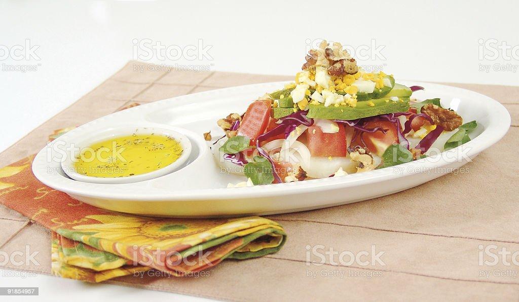 Avocado salad royalty-free stock photo