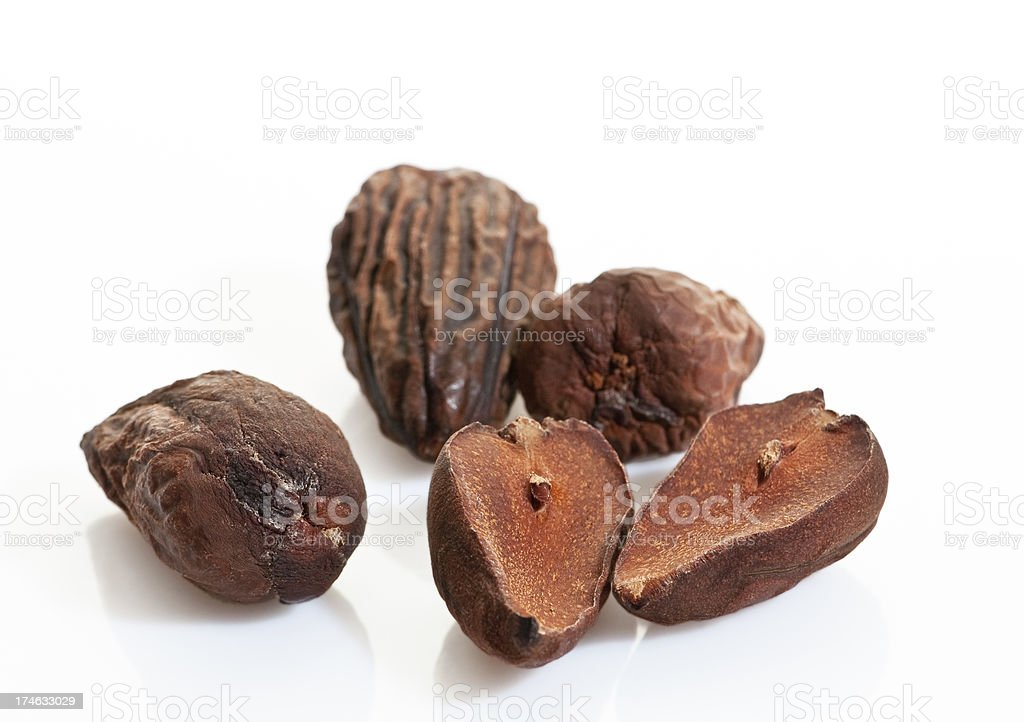 Avocado seeds royalty-free stock photo