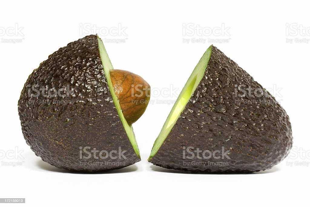 Avocado Sex royalty-free stock photo