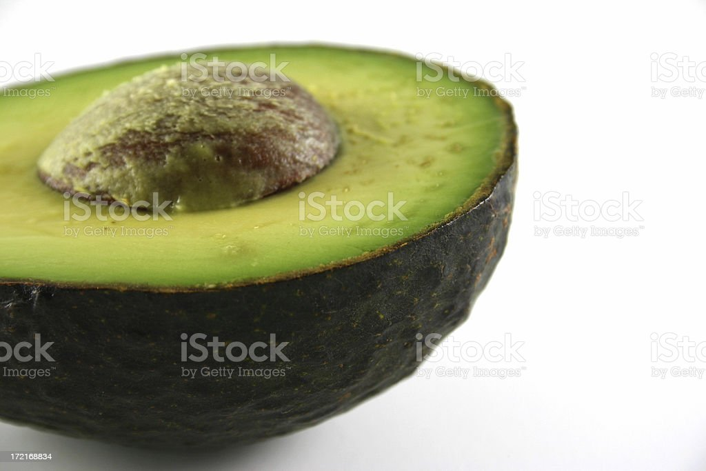 avocado study 2 of 4. royalty-free stock photo