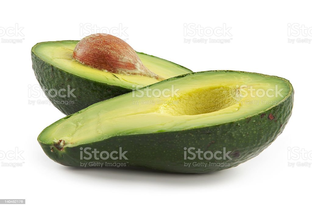 Avocado-oily nutritious fruit stock photo