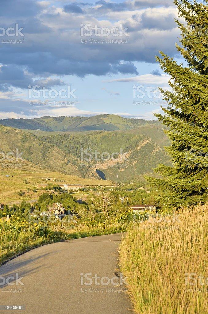 Avon, Colorado stock photo