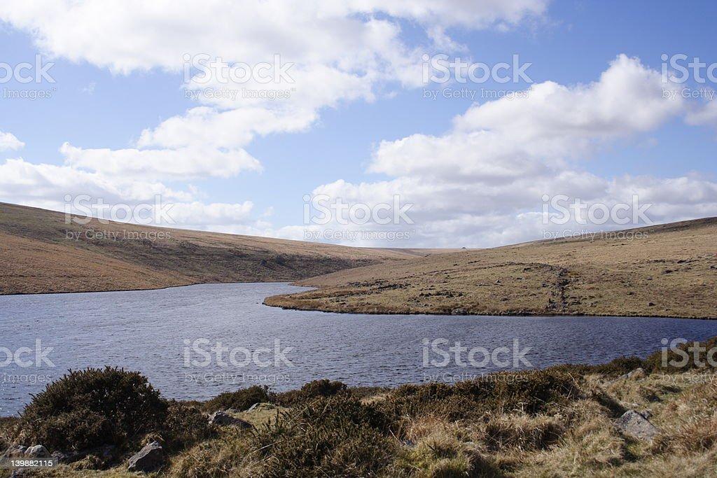 Avon Dam Dartmoor stock photo