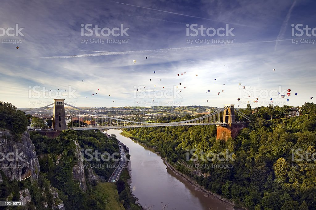 Avon Gorge View stock photo