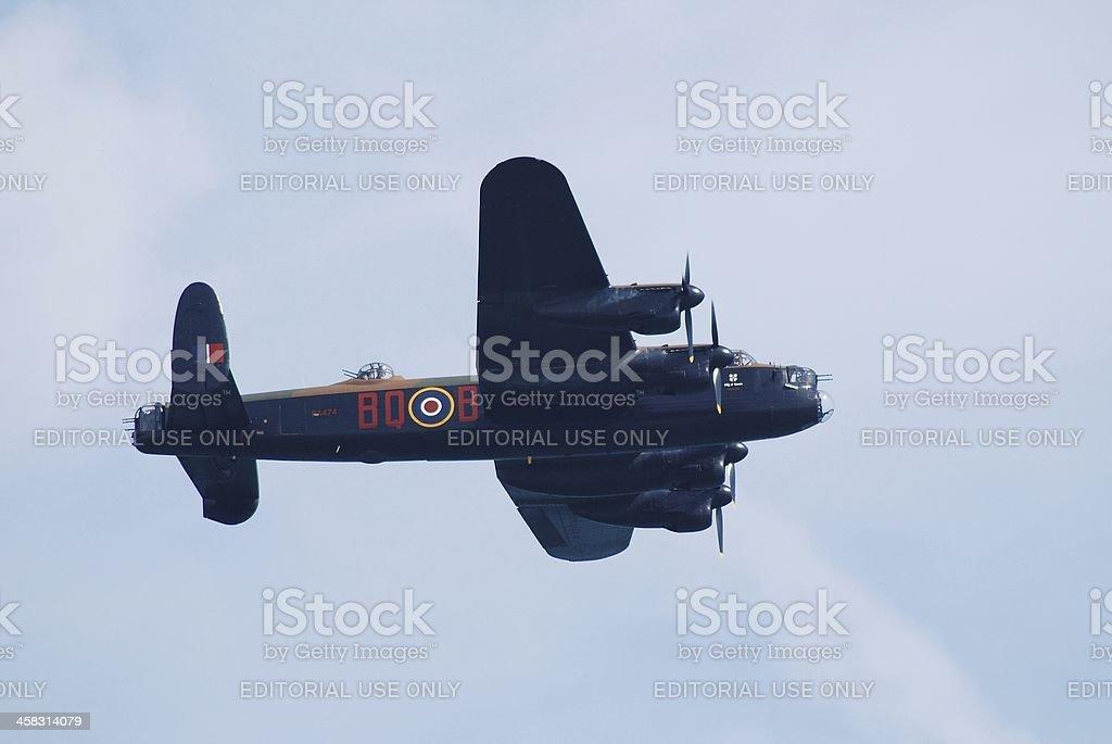 Avro Lancaster bomber royalty-free stock photo