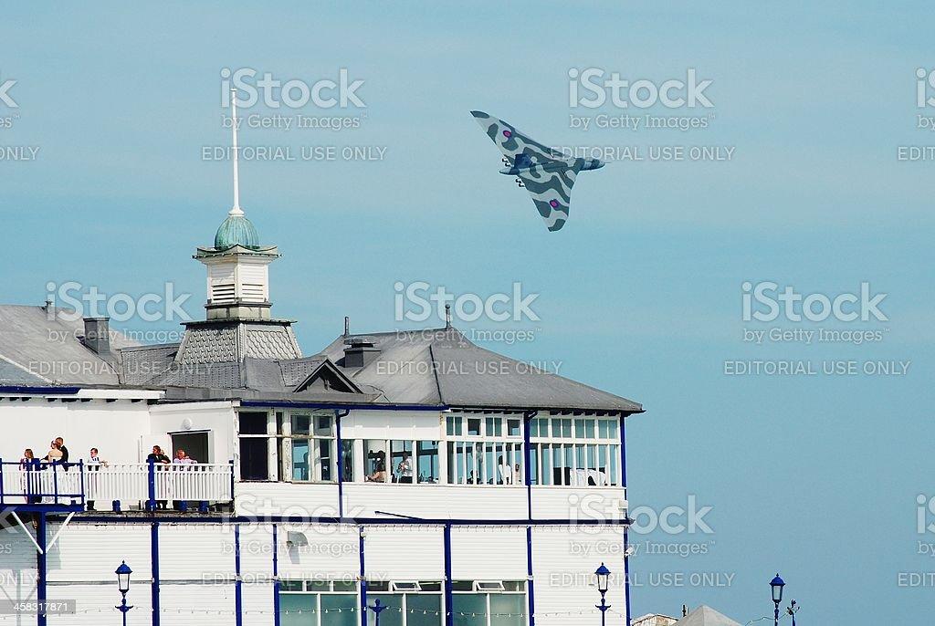 Avro Vulcan B.Mk2 bomber royalty-free stock photo