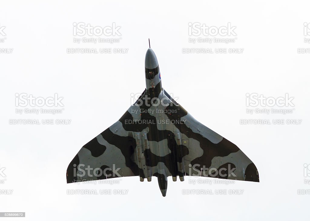 Avro Vulcan XH558 stock photo