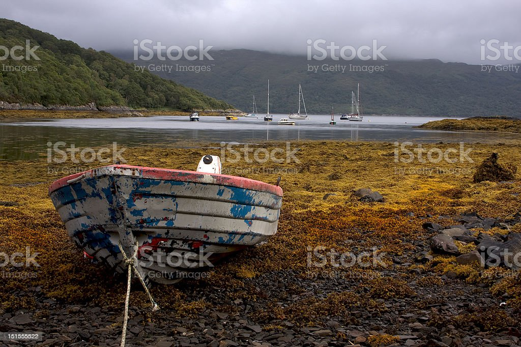 Awaiting the Tide royalty-free stock photo