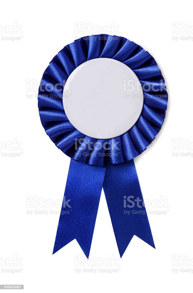 Award badge stock photo