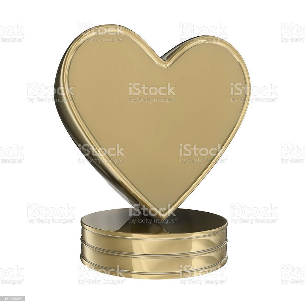 Award - Love royalty-free stock photo