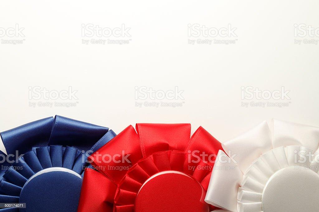 Award Ribbons stock photo