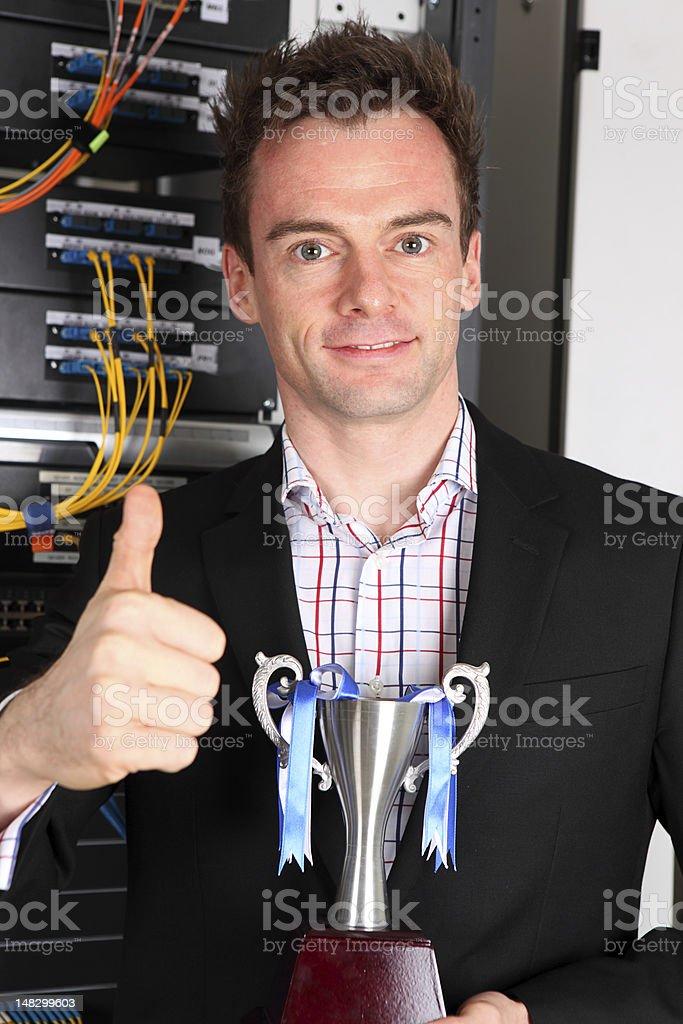 Award winning systems royalty-free stock photo