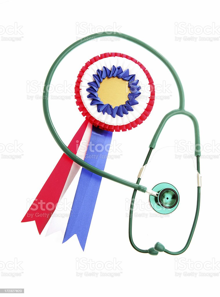 Awarded Healthcare stock photo