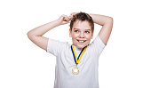 Award-winner boy.