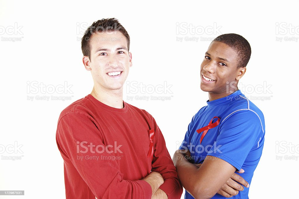 AIDS Awareness royalty-free stock photo