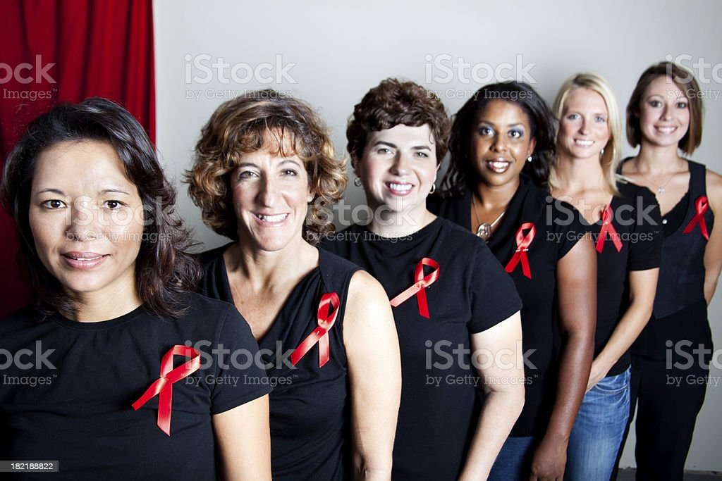 AIDS Awareness stock photo