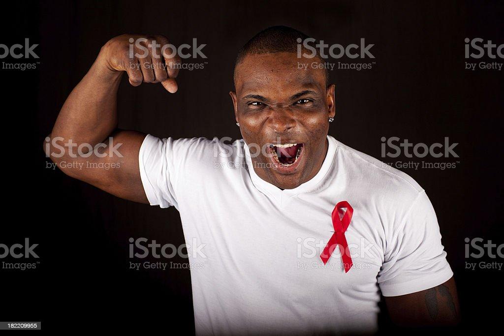 AIDS Awareness royalty-free stock photo
